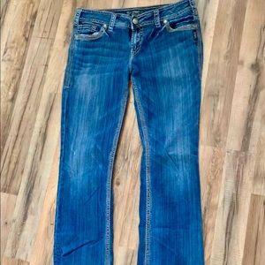 Silver men's jeans suki